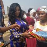 Jackie Appiah donates to Kayayeis at Agbogbloshie market (Video)