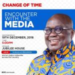 Akufo-Addo's full speech - Media Encounter with the press (Video)