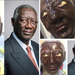 Hilarious birthday cake of former president, John Agyekum Kufuor pops up