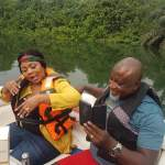 Check out Empress Gifty Adorye and husband Hopeson Adorye having fun after wedding