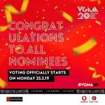 VGMA 2019 voting starts Today, 25th March