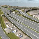 John Mahama's Newly constructed Tema Motorway interchange to open Tomorrow May 16