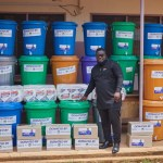 Obour donates to Asante Akyem South Health Directorate
