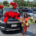 Police chase Nana Aba Anamoah over fake Range Rover number plate