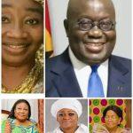 List of women Nana Akufo-Addo have married