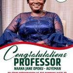 We are excited about Prof Jane Naana Opoku-Agyemang's nomination - NDC Women Wing