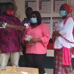 Dr. Sa-ad Iddrisu Donates Face Masks to NDC to Aid in the Voter Registration Exercise