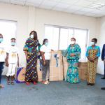 FIRST LADY LAUNCHES 'YOUNG AFRICA WORKS' PROJECT