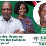 Akufo-Addo mistakenly 'endorses' Nii Lante Vanderpuye (Video)