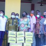 GEPA supports Industrial Arts and Craft in Sunyani with COVID items
