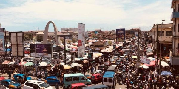 Makola Market in the heart of Accra
