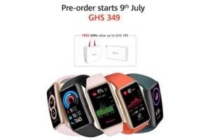 Preorder the new and stylish HUAWEI Band 6 in Ghana 1