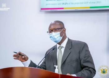 Dr Charles Addae, Deputy Commissioner in charge of Research, Strategy, Policy and Programmes