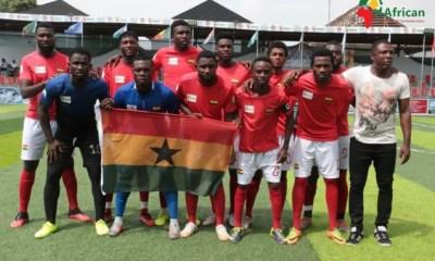 Ghana Beats Nigeria In Ongoing Minifootball Nations Cup