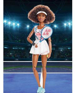 Naomi Osaka's Barbie Doll Collection