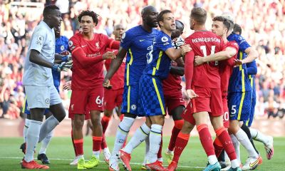 10-Men Chelsea Share Spoils With Liverpool At Anfield In A Controversial Game - REPORT