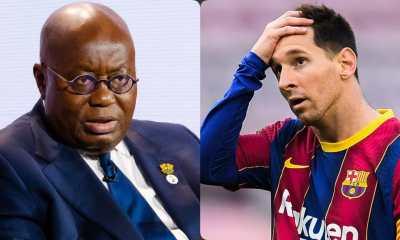 Barcelona Fans In Ghana Blame Akufo-Addo's Govt For Messi Exit
