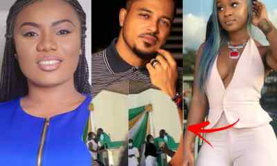 Van Vicker, Efia Odo And Bridget Otoo React To Anglican Priest Kissing Female Students On Pulpit
