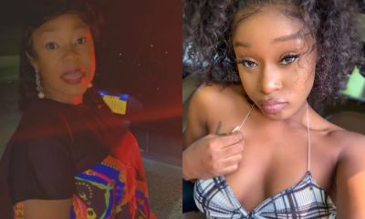 Efia Odo And Mum Cause Massive Reactions On Social Media In Latest Photo