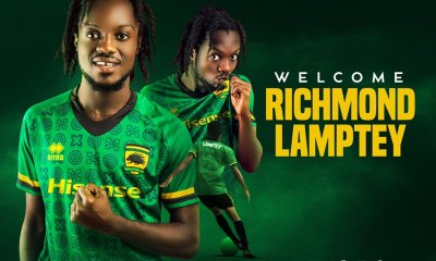 Kotoko Signs Now Player, Richmond Lamptey From Inter Alllies