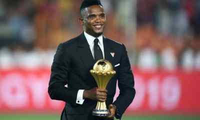 Samuel Eto'o Announces Plans To Run For Cameroon FA Presidency