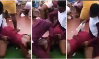 Guests 'Ch0p' Themselves At Friend's Wedding After They Failed To Control Their Urges (+VIDEO)