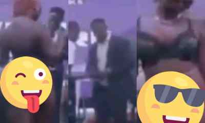 The Internet Flames Up As Video Of A Pastor Using A Half-Dressed Woman To Aid His Preaching Pops-Up