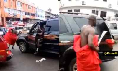 Angry Husband Attacks Man With Cutlass In Adum For Sleeping With His Wife [Watch]
