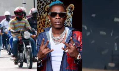 Shatta Wale Shows Okada Riders Street Love As He Makes Dollars Rain On Them In Video