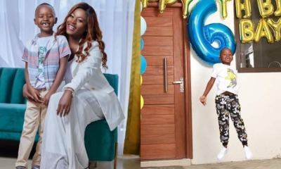 PHOTOS: Kenyan Businesswoman, Mercy Maluli Gifts Her Son A House on His 6th Birthday