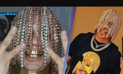 Mexican Rapper, Dan Sur Gets Gold Chains Surgically Implanted Into His Head [Video]