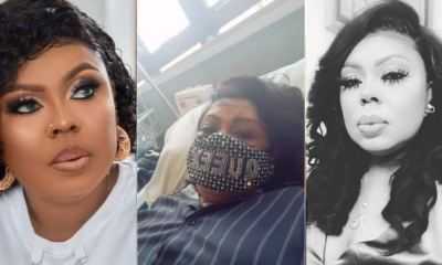 Afia Schwar Battling For Her Life At Hospital; Begs Ghanaians To Pray For Her (Watch)