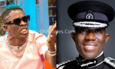 Shatta-Medikal Arrest Saga: IGP Tops Twitter Trends; This Is What Ghanaians Think Of Him