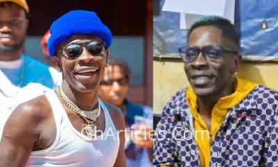 Star In The Prison: Watch How Ankaful Inmates Gave Shatta Wale A Grand Welcome (+VIDEO)
