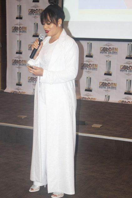 Nadia buari at 2016 golden movie awwards