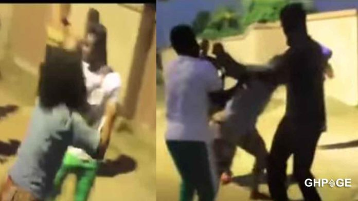 Kumawood Actresses And Actors Engage In A Serious Fight On Set 696x392