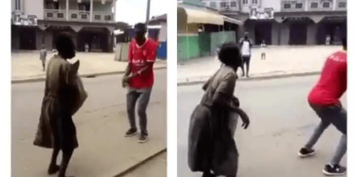 Mad Woman Dancing To Stonebwoys Putuu Song.