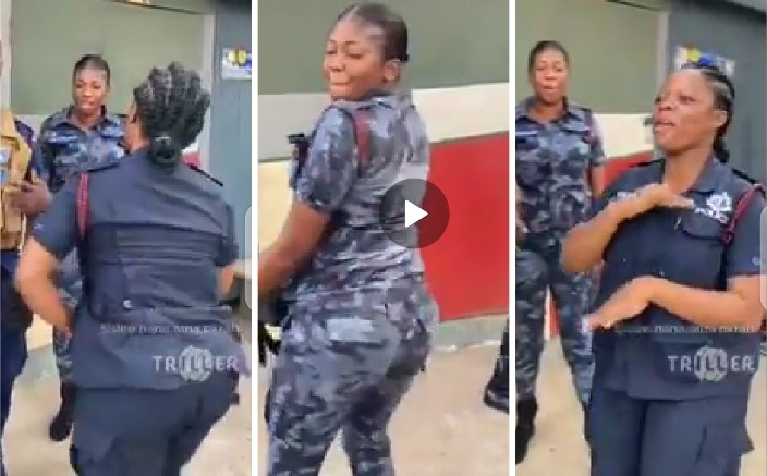 Police Officers Dance John Mahamas Campaign Song
