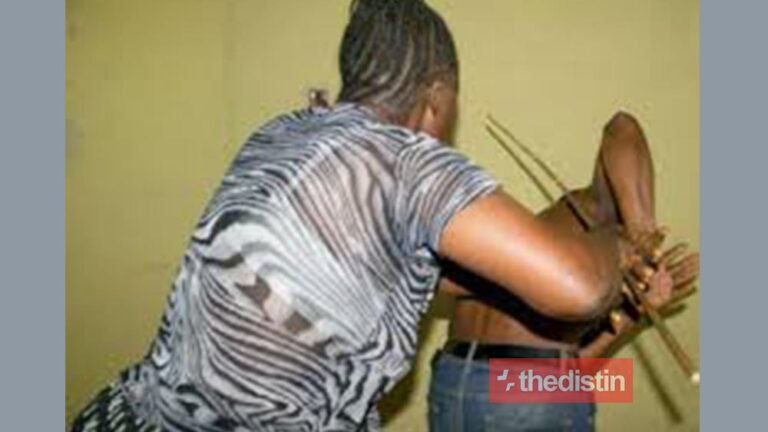 Lady Beats Boyfriend After She Caught Him Chopping Another Lady Thedistin 768x432