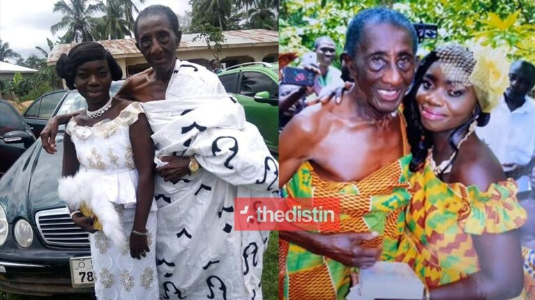 Lady Who Got Married To 97 Year Old Man Finally Speaks Thedistin