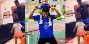Strongman Burner And His Daughter Osei Engage In A Dance Battle In New Video Thedistin 500x250