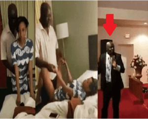 Screenshot 2020 03 28 Things Fall Apart Fornicating Pastor Caught Chopping His Church Member Watch Full Video The News Gh (2)