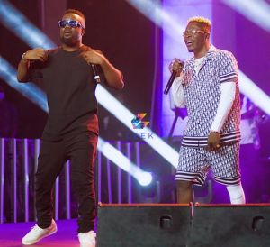 Video: Sarkodie Makes Peace With Shatta Wale At Black Love-Virtual Concert With 'Megye Wo Girl''