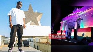 Photos: See The Setup For Sarkodie's Black Love-Virtual Concert At Black Star Square