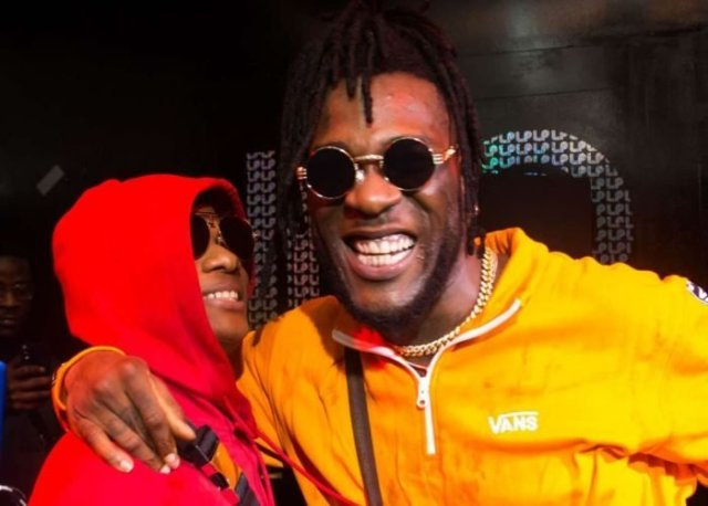 Burna Boy And Wizkid Spotted Chilling Together