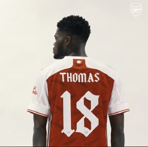 Why Thomas Partey has Thomas and not Partey on his jersey