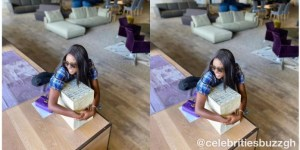 Yvonne Nelson says she's sharing $10,000 each to 20 people today