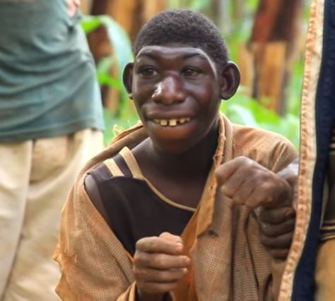 Meet 21-Year-Old Boy Who Feeds On Grass, Can't Speak And Stays In The Jungle (Photos And Video)