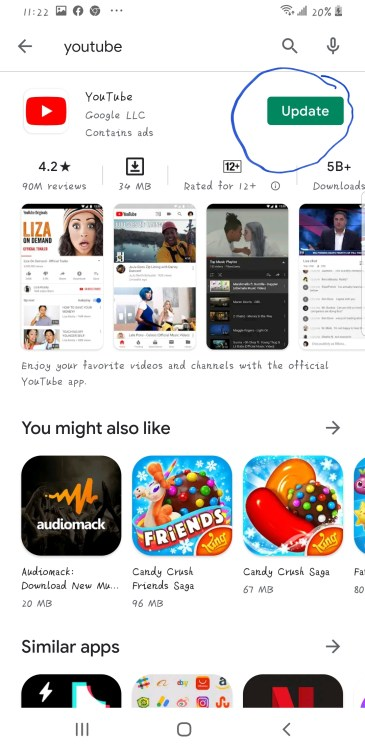 update youtube at playstore - How To Download Mp3 And Mp4 Videos From Youtube In Ghana, 2021