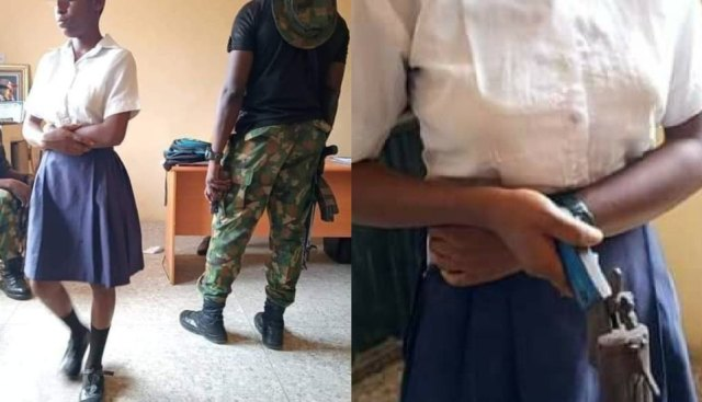 SHS Student Goes To School With A Gun To Shoot Teacher Who Asked Her To Cut Her Coloured Hair (PHOTOS)